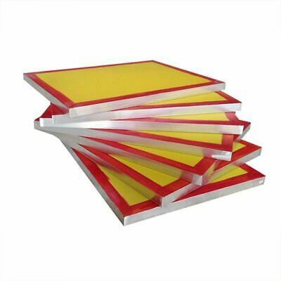 6 Pack Aluminum Frame Silk Screen Printing Screens 20 X 24 With 200 Mesh Count