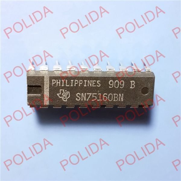5PCS   74LS245N Octal Bus Transceivers  74LS245  DIP20  TI