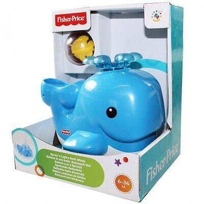 Mattel V4377 Fisher Price Badespaß Wal Baby Wasser Wasserspielzeug Spielzeug NEU