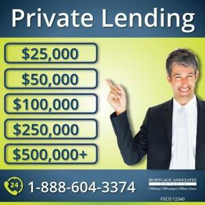 Private Mortgage Lender - Home Loan - Renovation Loan - Debt Consolidation Loan - Emergency Loan - Call 1-888-604-3374