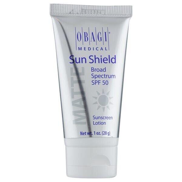 Travel/Mini Obagi Sun Shield Matte SPF 50 Sunscreen Lotion 1 oz