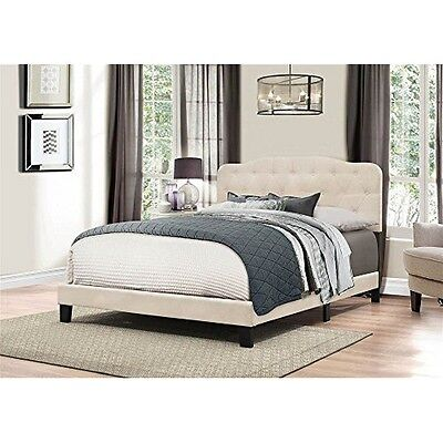 Hillsdale Furniture 2010-662 Nicole Bed In One-King-Linen Fa
