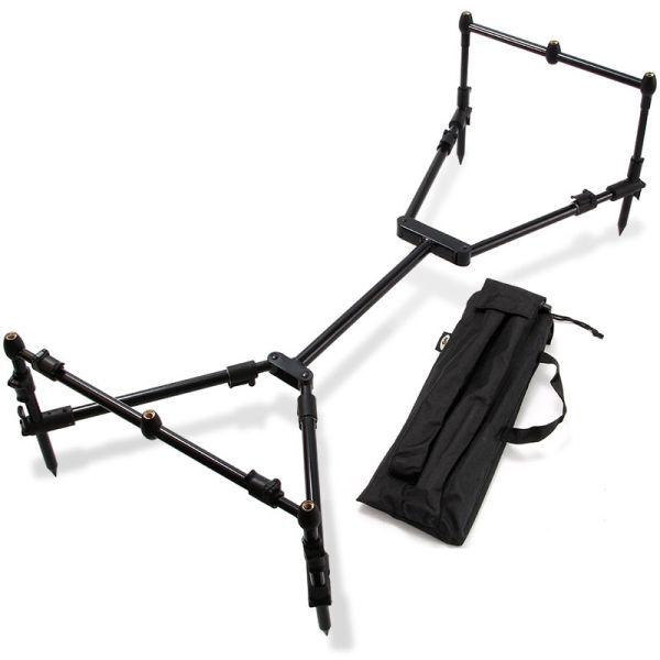 Rod Pod inkl. Tasche - black Nomadic - stabil, schwarz, geringes Packmaß, Carp