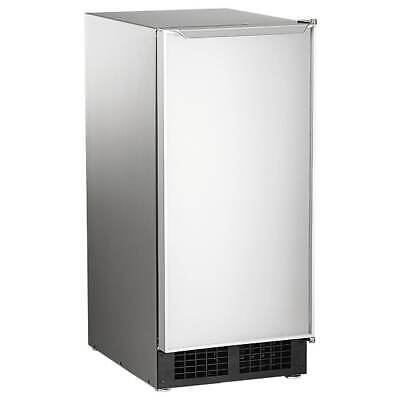 Scotsman Dce33a-1ssd 15w Top Hat Undercounter Ice Maker 30 Lbsday Air Cooled