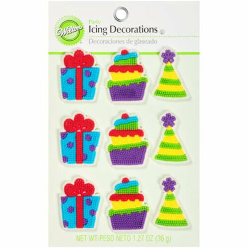 Party Icing Decorations from Wilton 461