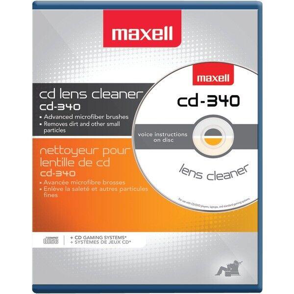 Maxell 190048 Maxlink Pro CD/DVD CD-340 Laser Lens Cleaner