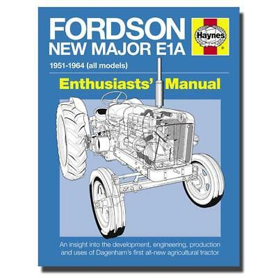 Haynes Enthusiasts Manual Fordson New Major E1A Tractor Owners Book H6125