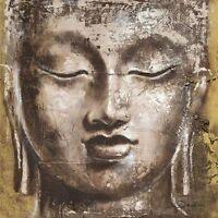 Joadoor: Wisdom Immagine Telaio Incastro 90x90 Tela Buddha Zen Feng-shui Culto -  - ebay.it