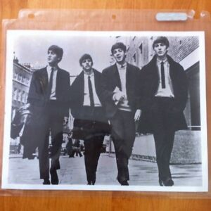 8x10 photo of the Beatles