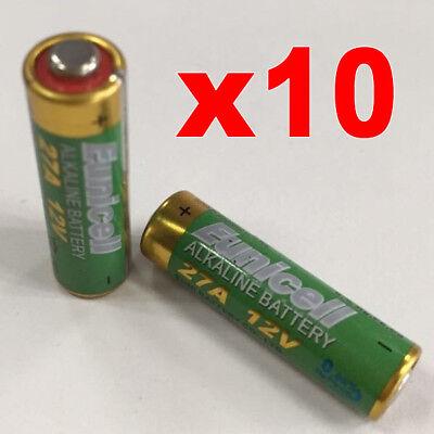 MN27 12V Batterie 10X Alkali- Security 27A Sensoren Einbrecher Alarm Tt Batterien 27a 12v Alarm