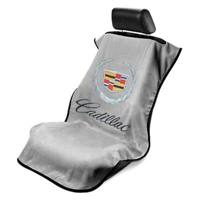 Seat Armour Front Car Seat Cover For Old Cadillac - Grey Terry Cloth