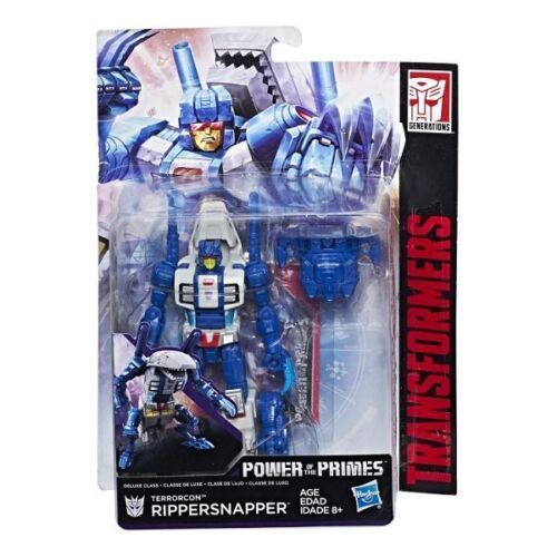 Transformers RIPPERSNAPPER Power of the Primes POTP W2 Deluxe Class