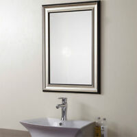 50% LOWER THAN STORE!Wood-imitation Framed Mirror