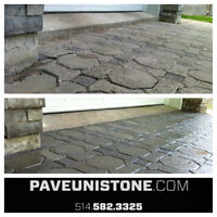 HIGH PRESSURE CLEANING & POLYMER SANDING PAVERS