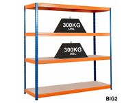 Shelving & racking for garage or warehouse x 9