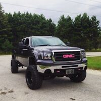 Lifted Sierra for sale