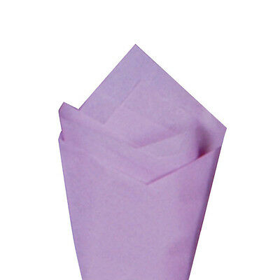24 Sheets Pack 20 X 30 Lilac Quality Premium Grade Color Tissue Paper