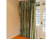 Made to measure Raw Silk curtains