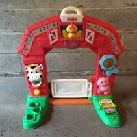 Fisher Price Farm lights and music in french.