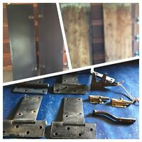 Plywood/2 Shed Doors,Hinges,Latches,L-brackets,Hardware,More