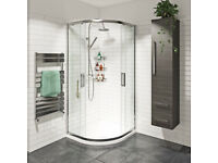Brand New Victoria Plumb Framed Quadrant 2 Door Shower Enclosure 1900 x 800 x 800