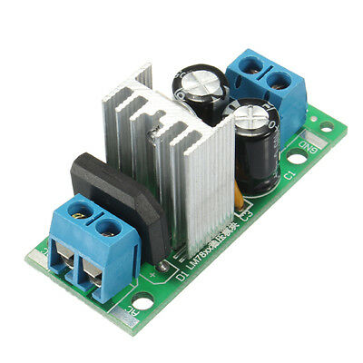 12-24v Ac Or Dc To 12v Dc L7812 Voltage Rectifier Regulator Power Supply Module