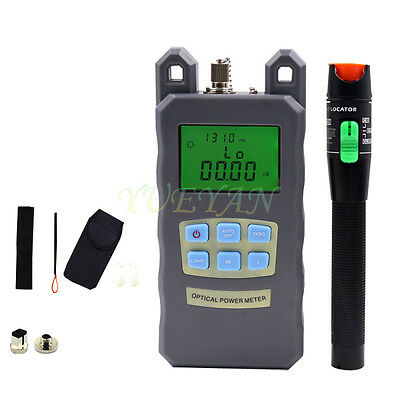 Fiber Optical Power Meter 30mv Visual Fault Locator Fiber Optic Cable Tester V30