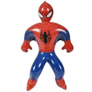 (1) 24 Inch Inflatable Blow Up Spider-man Party Decoration Photo Op Spiderman
