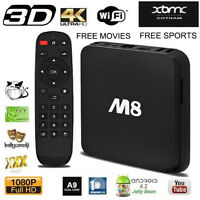 ★★ IP TV TV BOX M8 Android XBMC Boite !! $115 ★★