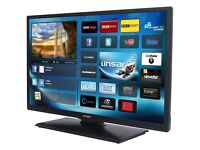 "Linsar 24"" Full HD Ultra Slim LED Smart TV with Wifi & Freeview HD"