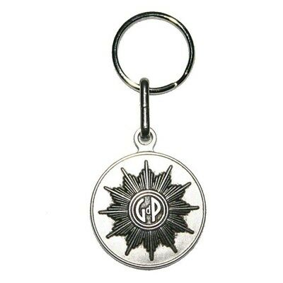 Metall-Schlüsselanhänger GdP-Polizeistern