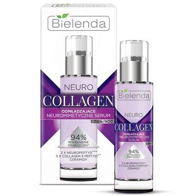 Bielenda Neuro Collagen Neuromimetic Rejuvenating Serum Day Night 30ml