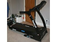 REEBOK ZR10 TREADMILL MODEL RE1 - 12021BK complete with INSTRUCTIONS