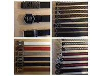 VERSACE FERRAGAMO ARMANI BELTS PHILIP PLEIN BELTS - BEST PRICE