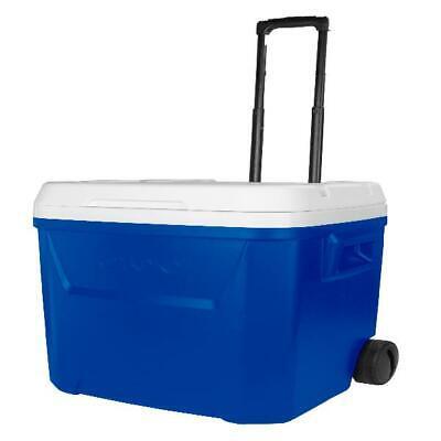 60 qt rolling cooler easy transportation
