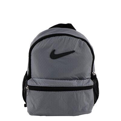 Nike BRASILIA JDI MINI BACKPACK Sports School Gray Outdoor NWT BA6212-010