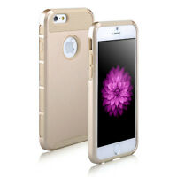 GOLD HYBRID RUGGED HEAVY DUTY CASE COVER FOR APPLE IPHONE 6 PLUS