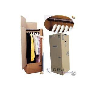 cartons penderie pour demenagement 500 x 500 x 1350 mm. Black Bedroom Furniture Sets. Home Design Ideas
