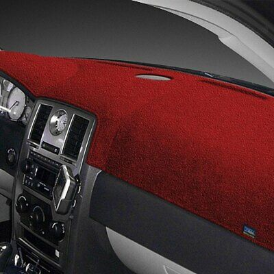 For Smart Fortwo 2011-2015 Dash Designs DD-1396-0VRD Plush Velour Red Dash Cover