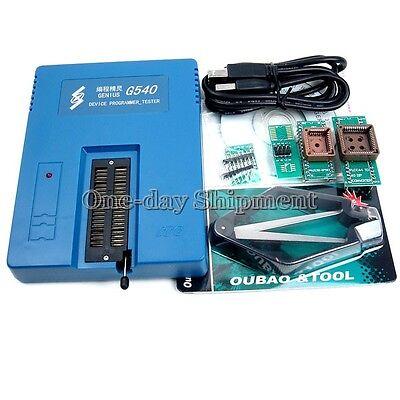 1x G540 Usb Universal Programmer Eprom Flash Mcu Gal Pic G450usb Programmer