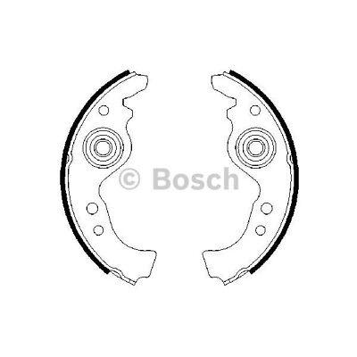 ORIGINAL BOSCH Bremsbacken Backensatz Fiat Lancia Seat Bj.69- - 0 986 487 030