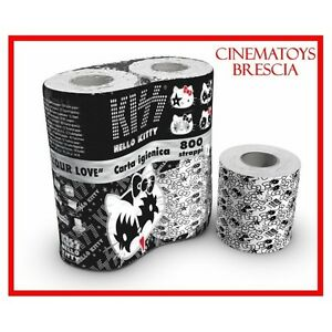 KISS-GENE-SIMMONS-HELLO-KITTY-Real-TOILET-PAPER-LIMITED-COLLECTOR-or-Actual-Use