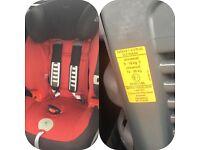 Britax Evolva 1-2-3 plus car seat..vgc as used as spare