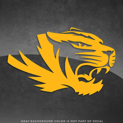 Missouri Tigers Logo Vinyl Decal Sticker - 4