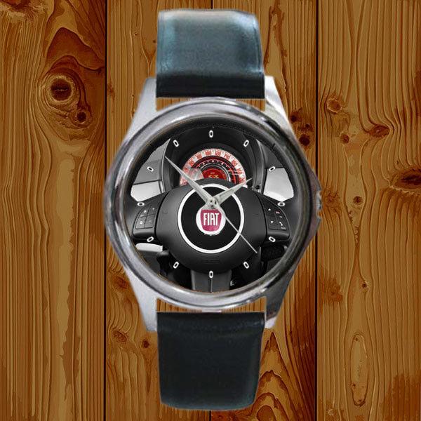 2013 FIAT 500 2-door HB Lounge Steering Wheel R Accessories Watch