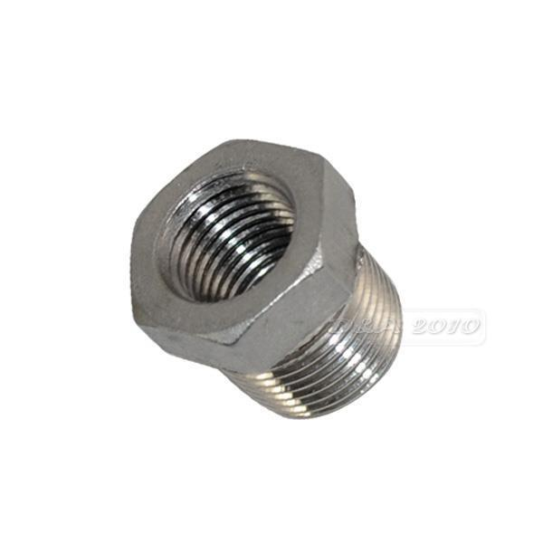 """1/2"""" Male x 3/8"""" female Stainless Steel thread Reducer Bushing Pipe Fitting NPT"""