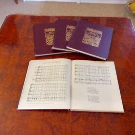 Four volumes of. English songs from the four nations