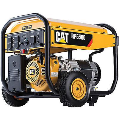 Cat Rp5500 - 5500 Watt Portable Generator