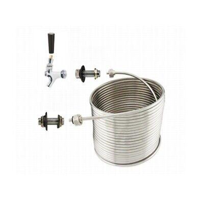 Nyb Jockey Box Single Faucet Coil Kit - 70 Left Hand - Diy Jockey Box Kit