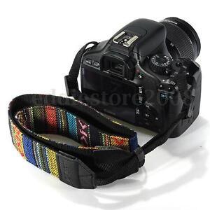 Vintage Camera Shoulder Neck Strap For SLR DSLR Nikon Canon Sony Panasonic UK